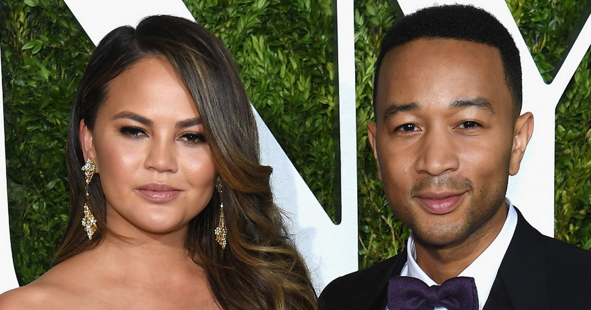 Chrissy Teigen fears 'death or becoming a handsmaid' if Trump wins US election