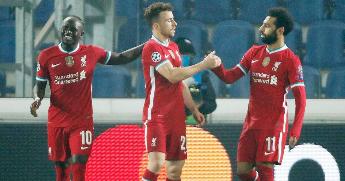Diogo Jota explains why it's easy to play alongside Salah and Mane at Liverpool