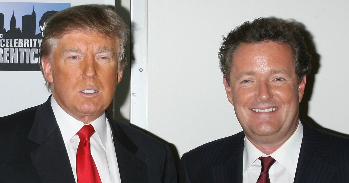 Donald Trump stayed loyal to Piers Morgan in darkest hour – but wife was furious