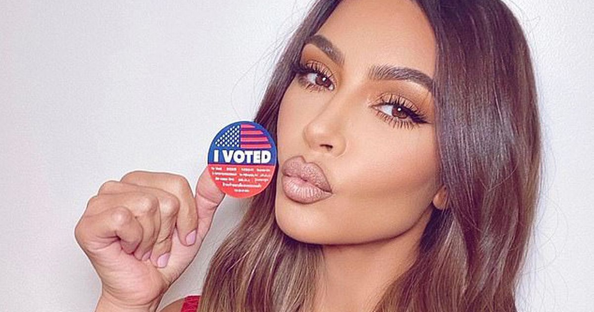 Kim Kardashian fans demand to know who she voted for as Kanye wins 50,000 votes