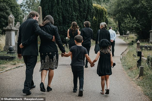 Funerals will be allowed to go ahead with up to 30 guests under new lockdown rules (stock image used)