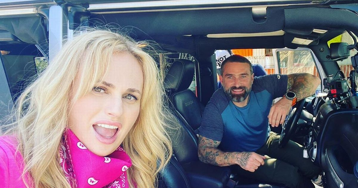 Rebel Wilson fuels Celeb SAS rumours as she works up a sweat with Ant Middleton