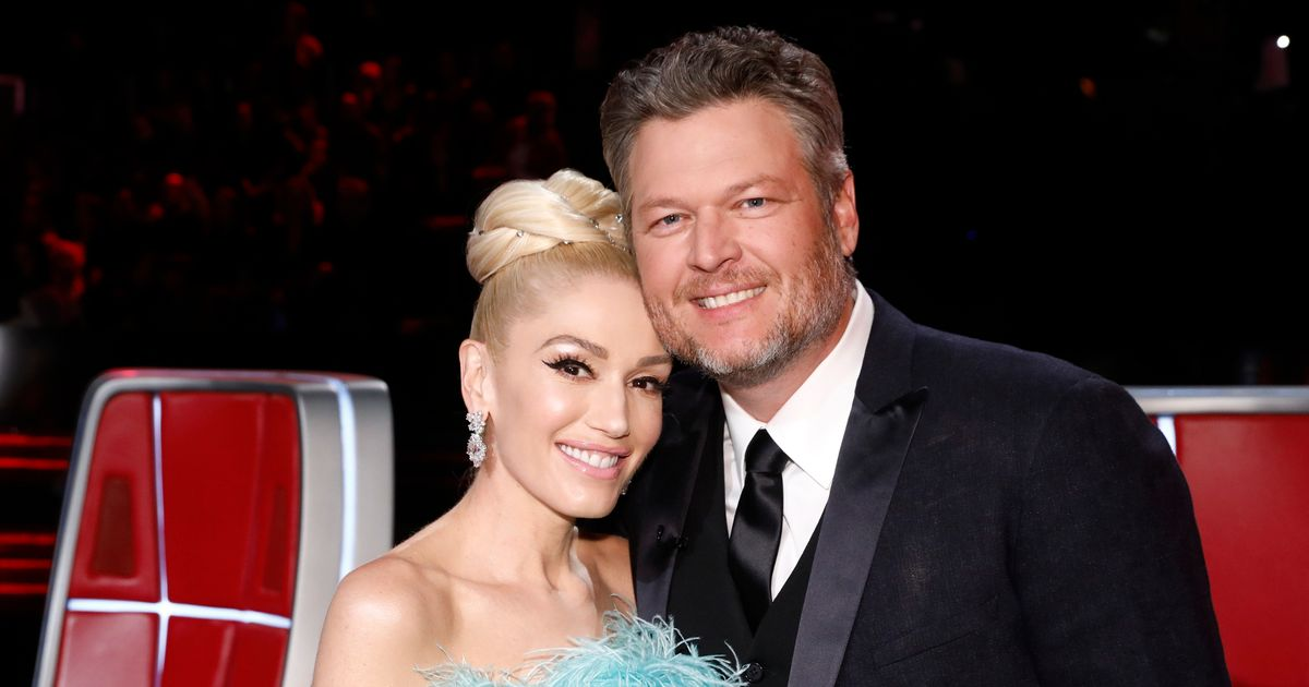 Gwen Stefani's beau Blake Shelton asked her sons for permission before proposing