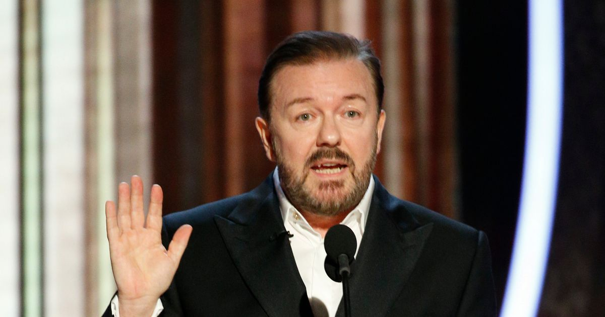 Ricky Gervais slams 'privileged' Tom Hanks for thinking he's 'above' his jokes