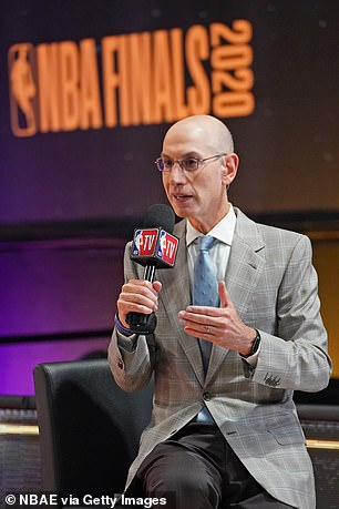 The NBA and commissioner Adam Silver (pictured) believe starting on December 22 would allow for $500 million in additional revenue for the coming season, and the league's primary television partners also want that start date in part to allow for the traditional Christmas broadcasts