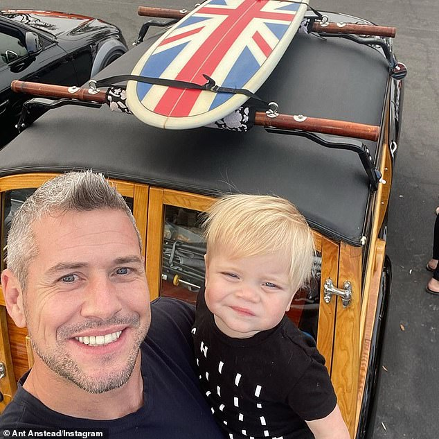 Over: She remarried television host Ant Anstead in December 2018 and announced the couple split just two months ago in September