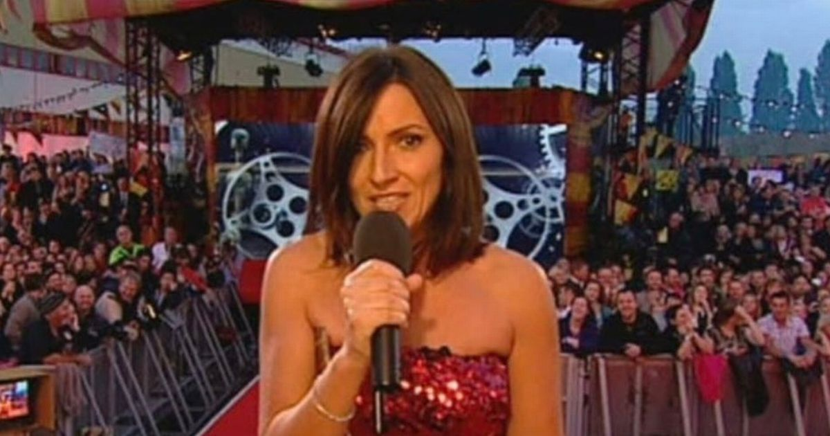 Davina McCall jokes she's going into the White House to remove Donald Trump