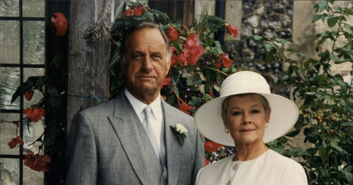 Judi Dench said Geoffrey Palmer was the 'naughtiest man' she'd ever worked with
