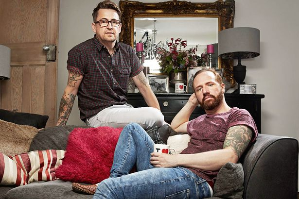 Stephen Webb and Chris Steed on Gogglebox