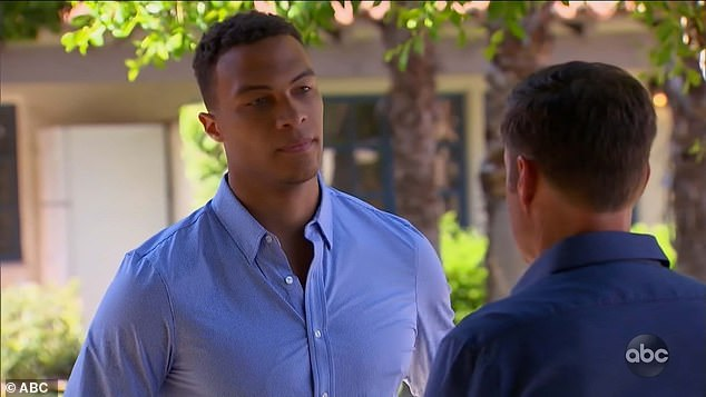 Solo time: Chris then went to tell Dale that in lieu of a group date that day, Clare wanted to spend time with him