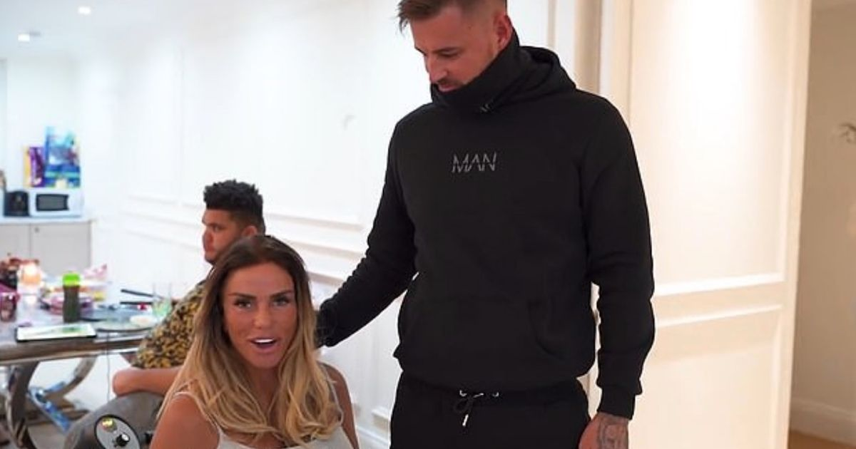 Inside Katie Price's massive rented home as Carl whisks her away for date night
