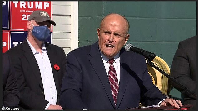 Rudy Giuliani, President Trump's personal attorney, held a news conference in Philadelphia on Saturday