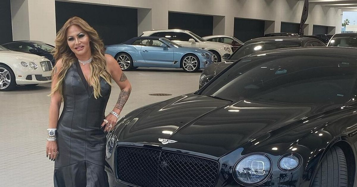 Phil Collins' ex-wife flaunts pricey purchase as she poses with £190k Bentley