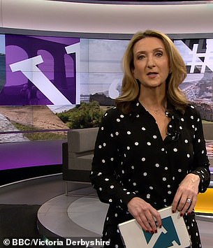 Pricey cost:Radio host Victoria Derbyshire is rumoured to have secured £75,000 for her role