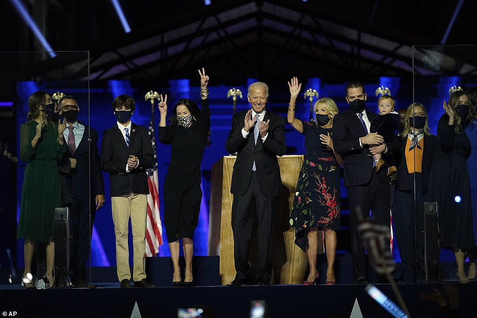The election result meansBiden will become the second Catholic president in American history