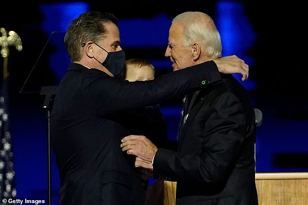 Will Hunter accept a Secret Service detail? Joe's son had protection when dad was VP but can decline