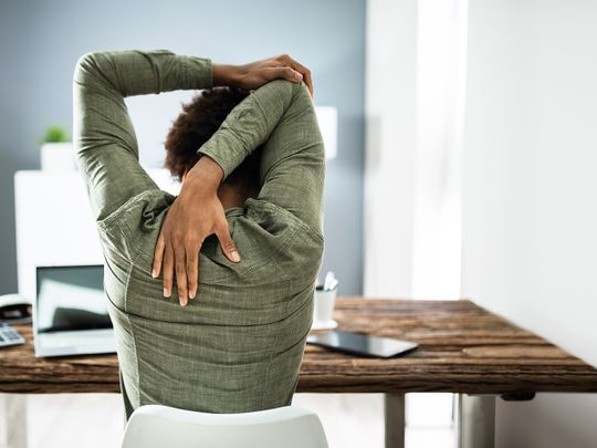 Avoiding common injuries when working from home