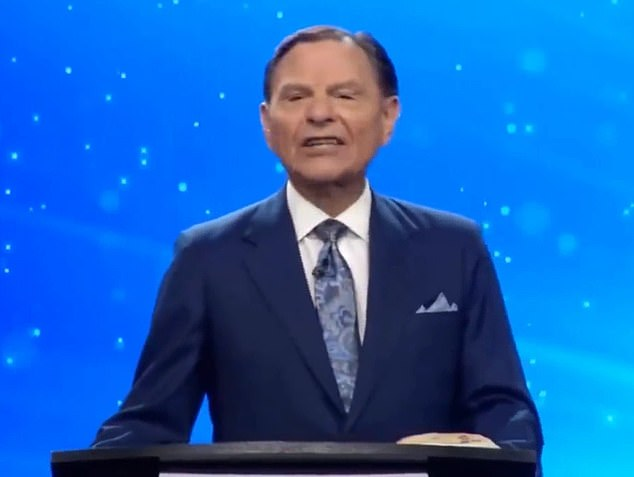 Televangelist Kenneth Copeland has been filmed laughing at Joe Biden's win