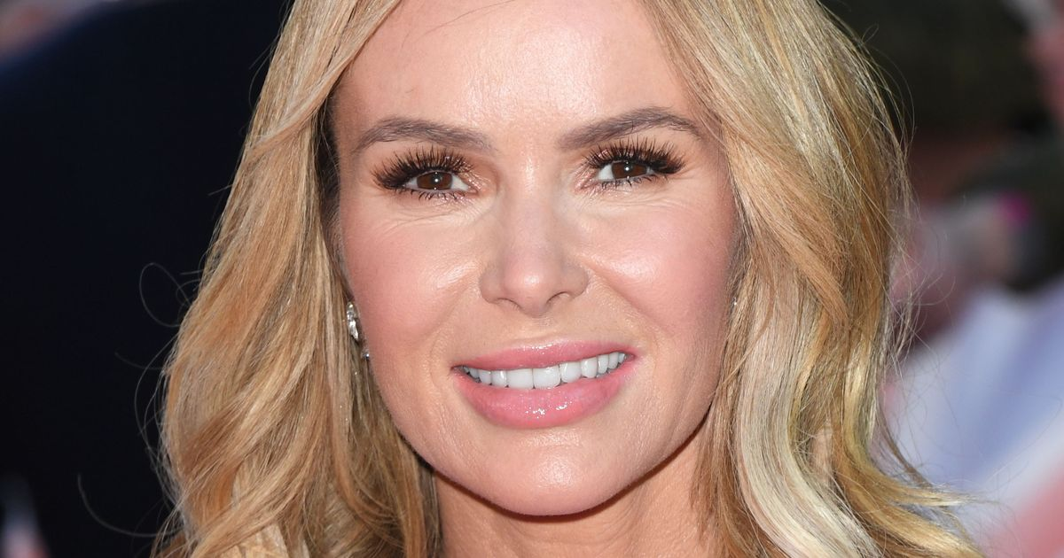 Amanda Holden 'beautiful beyond words' despite posing with ladders in a garage