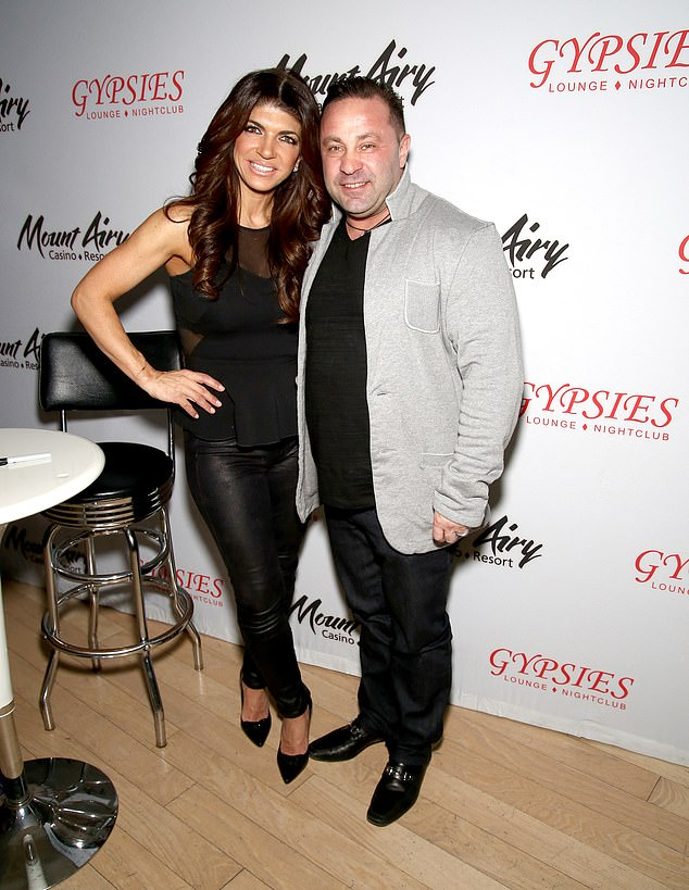Exes: Teresa's ex-husband Joe Giudice, who she was married to from 1999 to 2020, is also seeing someone new himself while he lives in Italy