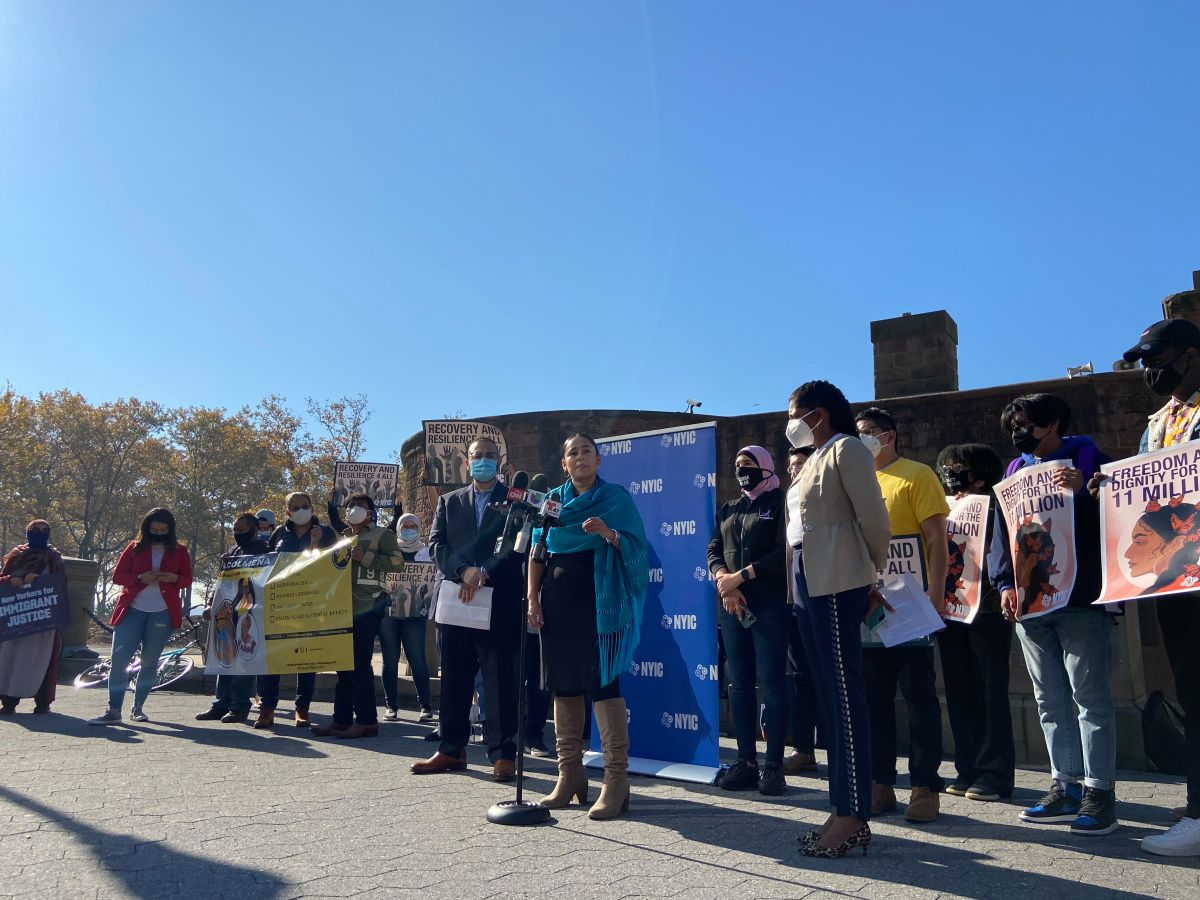 Coalitions and elected leaders of NY already demand clear steps in an immigration reform from Joe Biden | The State
