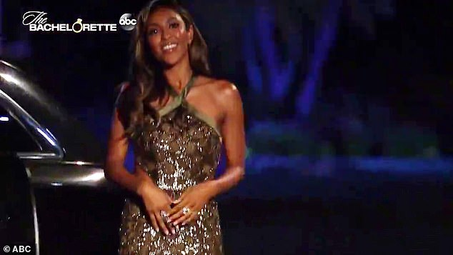 Meet your new Bachelorette! The new teaser begins right where the last episode left off, with Tayshia preparing to meet the men