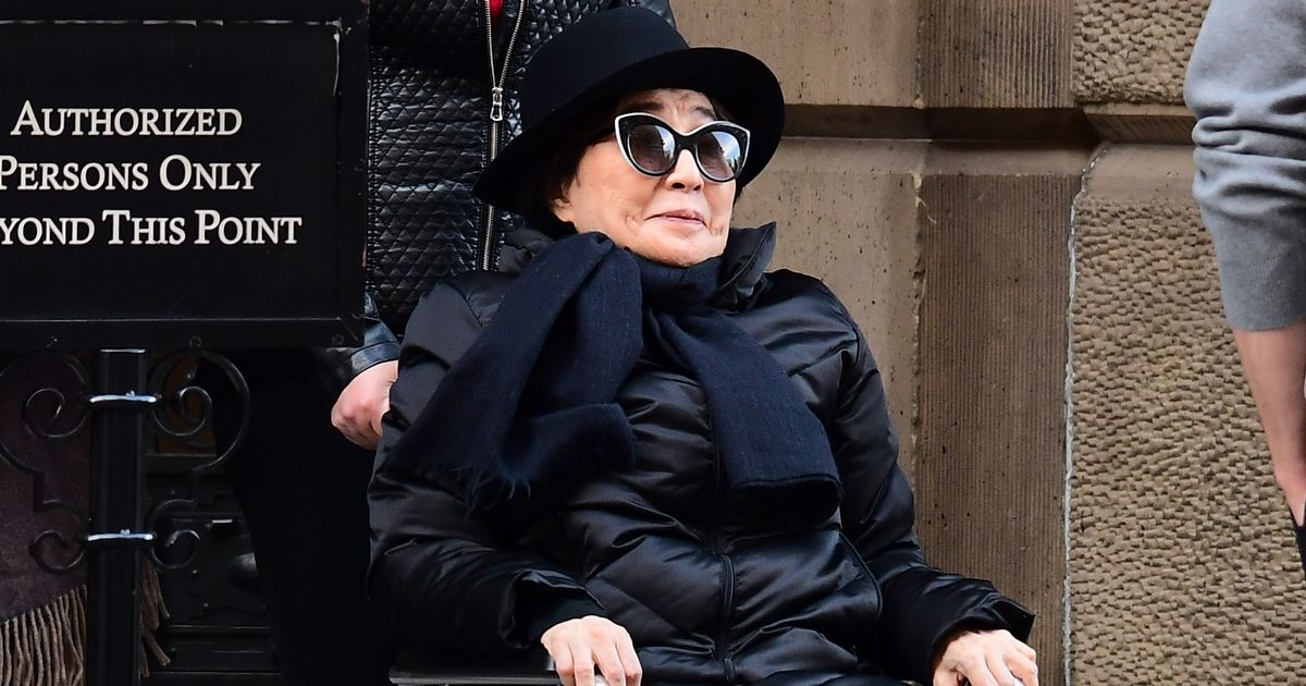 Yoko Ono hands over business interests to her and John Lennon's son