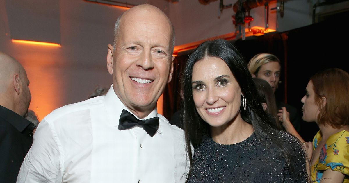 Demi Moore and Bruce's unusual bond… dance-offs, lockdown and wife's opinion