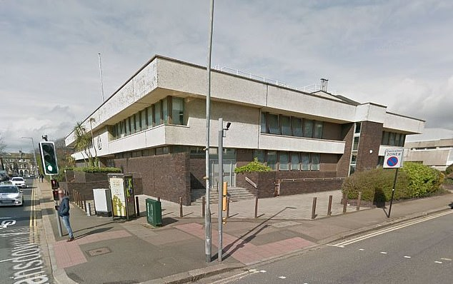At Hove Crown Court (pictured) Judge Shani Barnes found Lewis was dangerous and posed a risk of stabbing other people