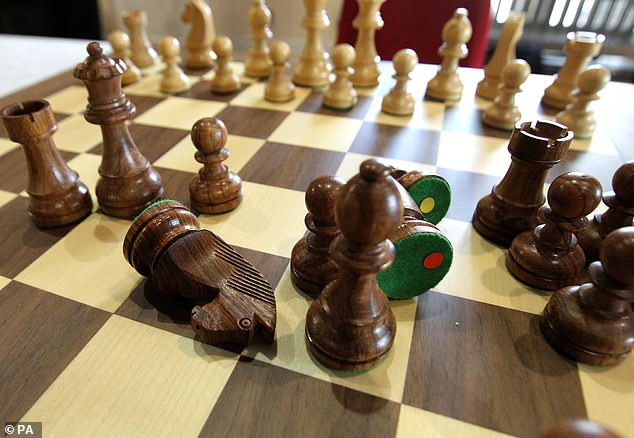 Louise Bailey had gone to his flat for drinks and Chess but a row erupted when Lewis mocked her ability and the chess board was tipped over (file image)