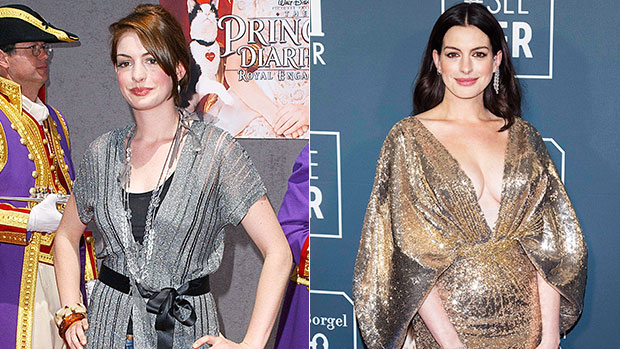 Anne Hathaway Then & Now: See Pics Of The Oscar Winner, 38, From 'Princess Diaries' Start To Now