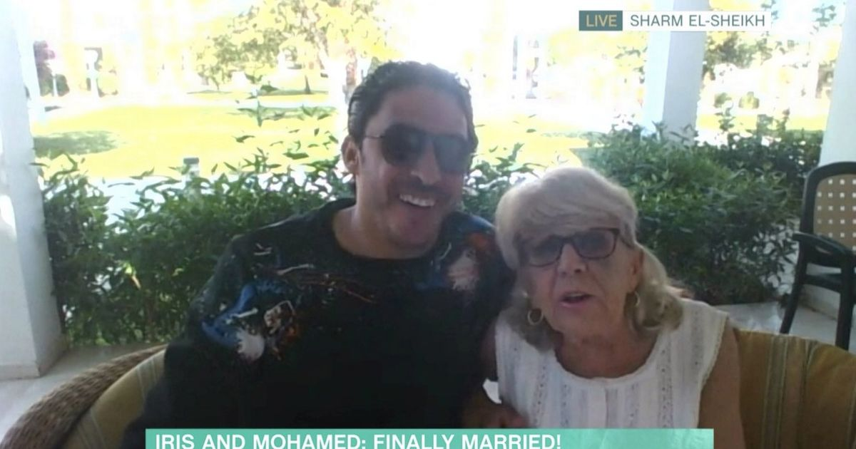This Morning guest Iris, 81, gets the silent treatment after marrying toyboy