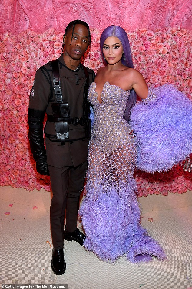More money for him: There is also news on Kylie's other ex Travis Scott, whose Astroworld Festival is hoping to return in 2021. Kylie and Travis seen in May 2019 at the Met Gala