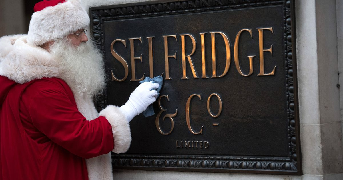 Selfridges launch annual Christmas sale with up to 20% off – but not for long