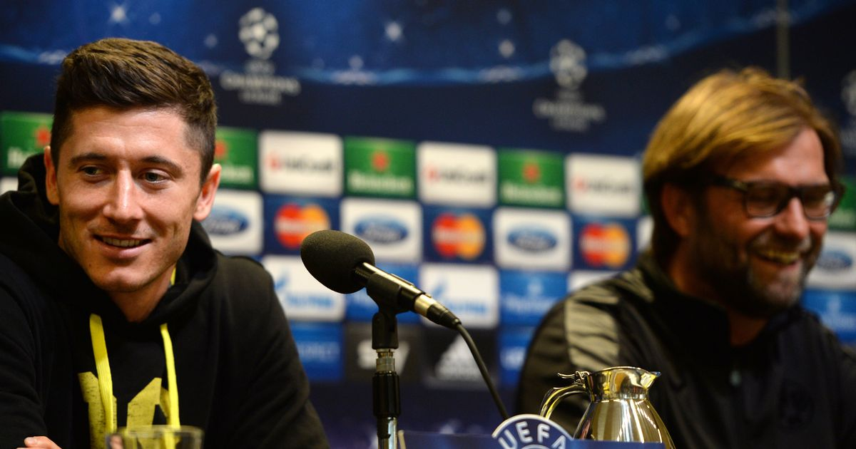 Robert Lewandowski opens up on two-hour chat with Liverpool manager Jurgen Klopp