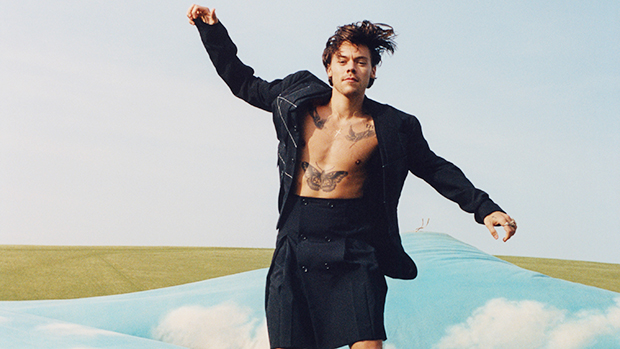 Harry Styles Rocks A Dress, Skirts & More As 'Vogue's 1st Solo Male Cover Star