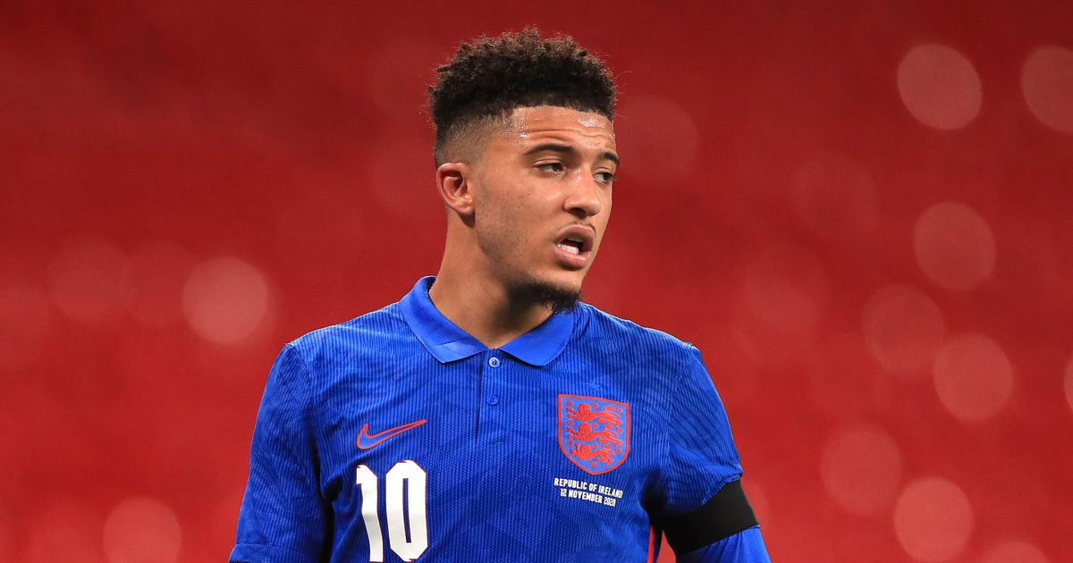 Jadon Sancho responds to claims Man Utd transfer link has led to dip in form