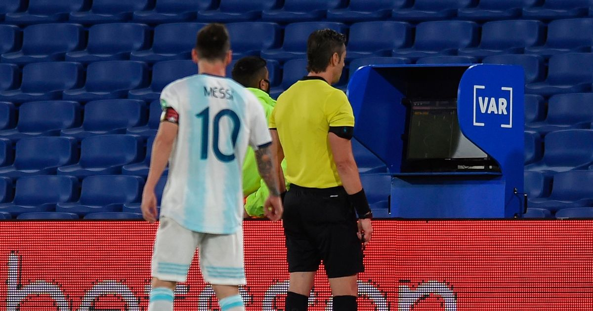 Lionel Messi's foul-mouthed blast aimed at referee after Argentina draw