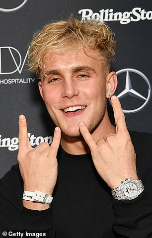 Pictured: Jake Paul