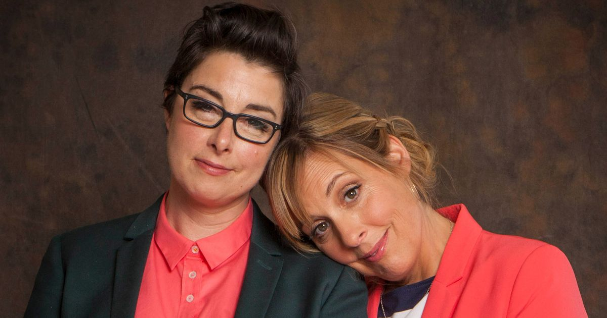 Sue Perkins' fear for Mel Giedroyc friendship after brain tumour tore life apart