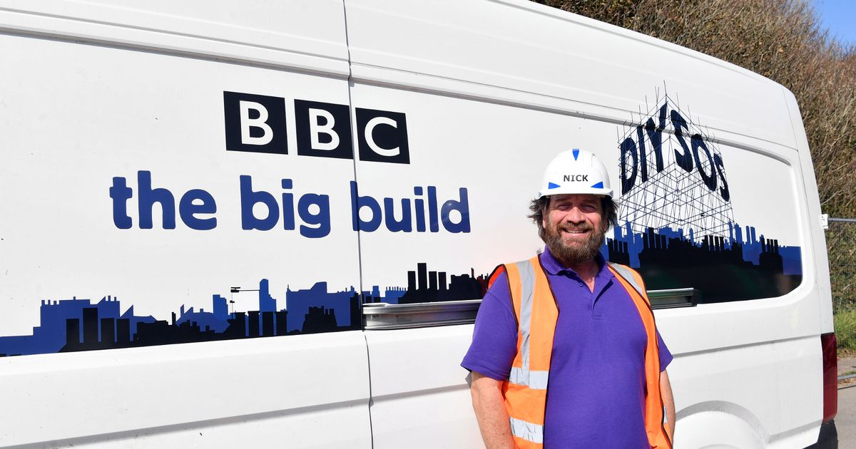 Nick Knowles embraces fuller figure after saying he's put on weight in lockdown