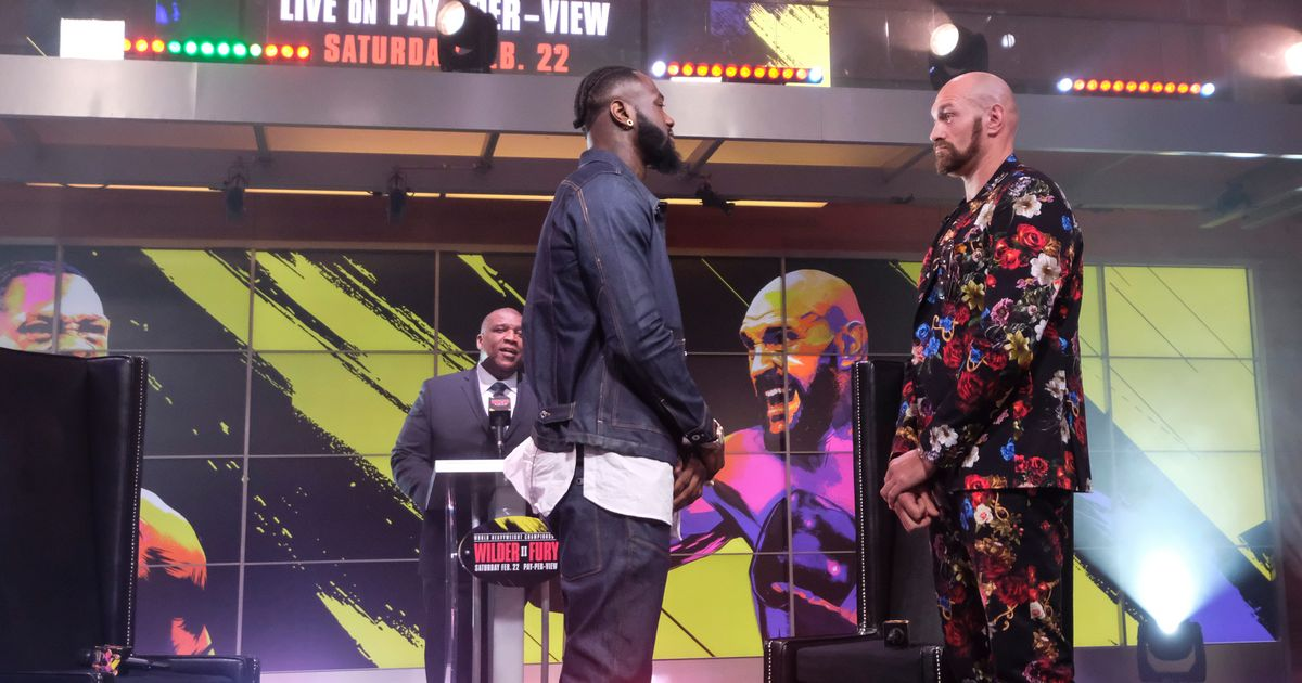 """Tyson Fury responds to Deontay Wilder's accusations he cast a """"gypsy spell"""""""