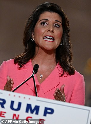 Haley's tweet received a flag Friday from Twitter under a policy that labels 'disputed claims that could undermine faith in the [election] process itself'