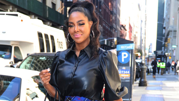 'RHOA's Kenya Moore Shows Off Weight Loss In Fitted White Overalls After Confessing To 7 Lb. Gain — See Pic