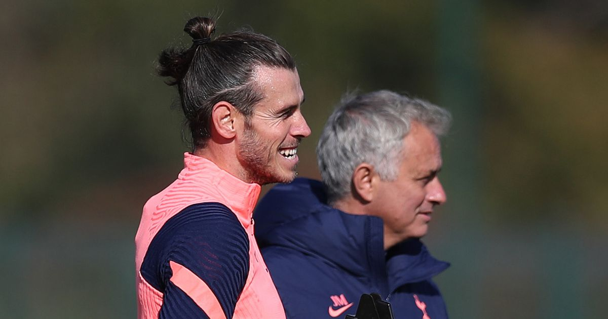 "Mourinho has helped Bale ""fall back in love with football"" at Tottenham"
