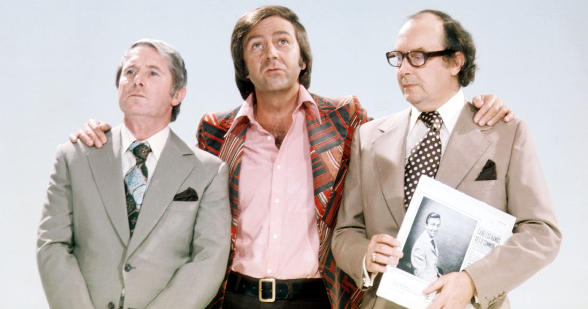 Des O'Connor confessed he wrote Morecambe & Wise's jibes about his singing