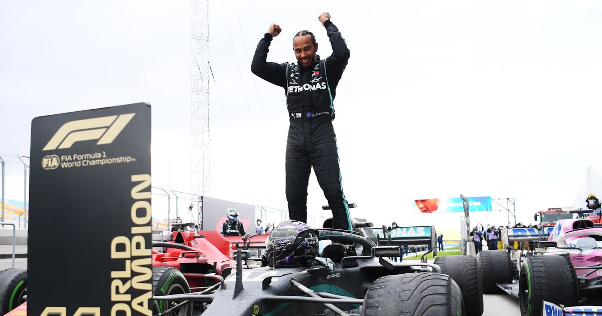 Gary Lineker leads praise for Lewis Hamilton after record-equalling 7th F1 title