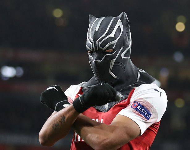 Aubameyang was criticised by Kroos over his Black Panther celebration