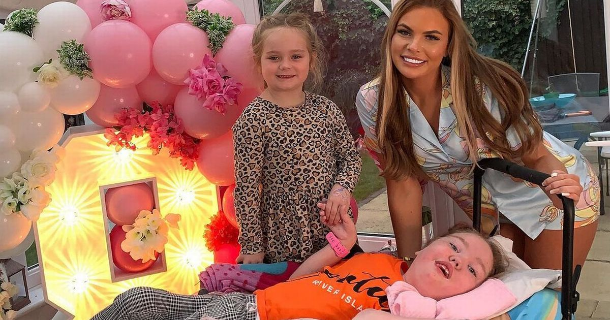 TOWIE star's little sister, 8, rushed to intensive care with coronavirus