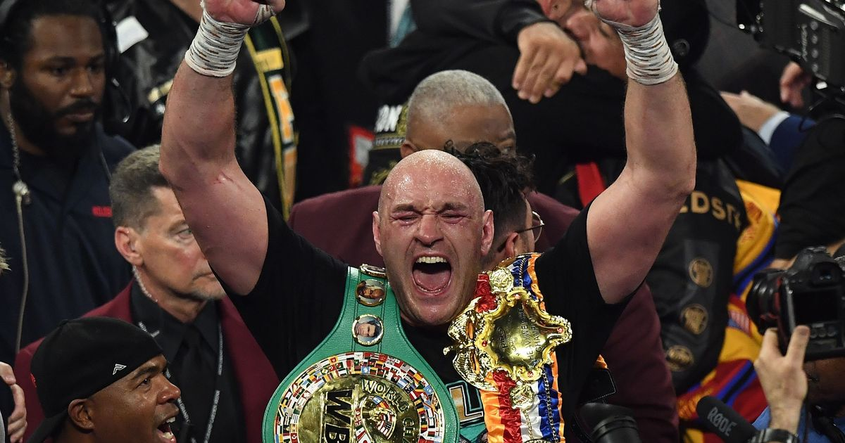 Tyson Fury rules out fighting this year amid Deontay Wilder contract row